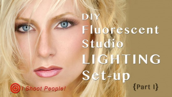 DIY Fluorescent Photography Studio Lighting