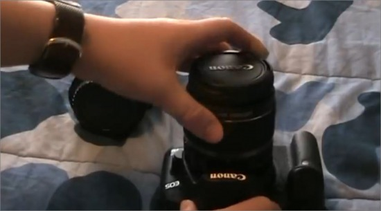 How To Attach A Lens